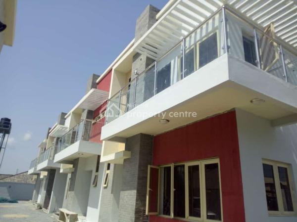 3 Bedroom Terrace with Bq, Ilasan, Lekki, Lagos, Terraced Duplex for Sale
