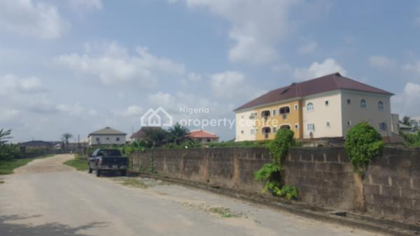 3 Plots Facing Road with Governor Consent. (corner Piece), Directly Facing Badore Road By Peace Ville Estate, Badore, Ajah, Lagos, Commercial Land for Sale