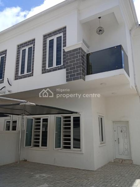 Brand New 4 Bedroom Semi Detached at Signature Estate Chevron with Equipped Kitchen, Ample Parking, Quality Sanitary Wares, Signature Estate, Chevron Alternative, Chevy View Estate, Lekki, Lagos, Semi-detached Duplex for Rent