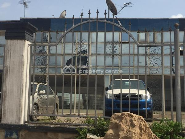 (pg002) 1,000 Sqm Commercial Space Suitable for Banking, Finance, Car Lot, Filling Station, Showroom, Eatery Etc, Omole Road, Agidingbi, Ikeja, Lagos, Office Space for Sale