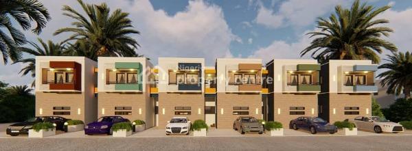 Affordable Luxurious 4 Bedroom Terrace Duplex, By Nepa Junction  Behind Apo Legislative Quarters, Apo, Abuja, Terraced Duplex for Sale