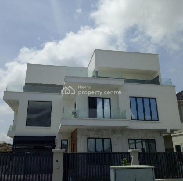 Contemporary Brand New Luxury 6 Bedroom Duplex, Pool, Gym, Pinnock Beach Estate, Osapa, Lekki, Lagos, Detached Duplex for Sale