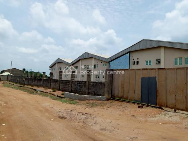 3 Bay Warehouse Measuring 4046sqm with Offices, Industrial Estate, Off Gberigbe/imota Road, Gberigbe, Ikorodu, Lagos, Warehouse for Sale