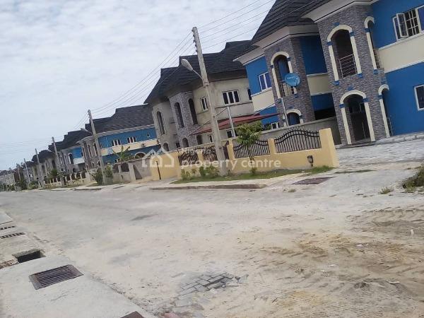 Brand New and Beautifully Finished 5 Bedrooms Semi-detached House + 1 Room Bq, Okun Ajah, Off Abraham Adesanya Road, Lekki Phase 2, Lekki, Lagos, Semi-detached Duplex for Sale
