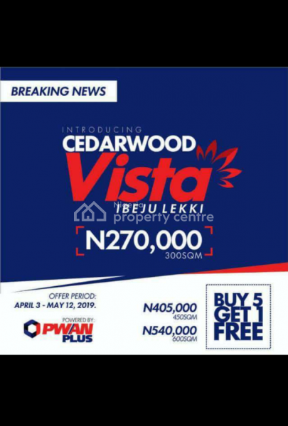 Cedarwood Vista Estate, Lekki International Airport Road, Orimedu, Ibeju Lekki, Lagos, Mixed-use Land for Sale