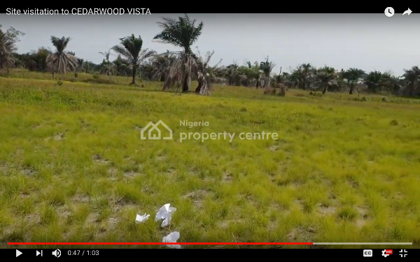 >>>  Buy 5 Plots Get 1 Free >>> Cedarwood Vista Estate Land for Sale! (ibeju-lekki)   (promo Price Ends May 12th), Cedarwood Vista, The Estate Is Within The Residential Division of The Free Trade Zone and Is After The Popular La Campaigne Tropicana Resort Along The Oklng Road., Ibeju Lekki, Lagos, Residential Land for Sale