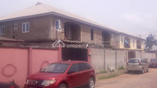 4 Nos of 2 Bedroom Flat Uncompleted Fenced Gate, Gamade Gowon Estate, Egbeda, Alimosho, Lagos, Flat for Sale