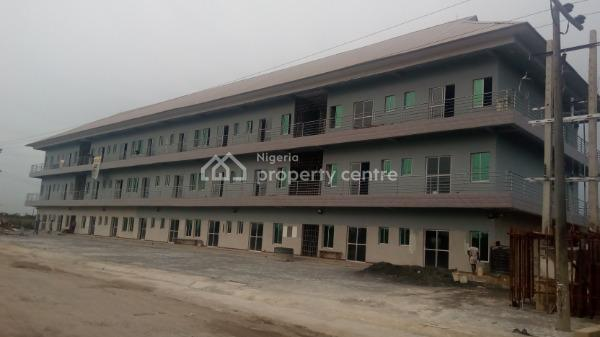 Newly Built 30 Units of Ultra - Modern Shops Measuring  65square Metres per Unit with a Toilet Each, Abijo Gra Road, Ibeju Lekki, Lagos, Shop for Rent