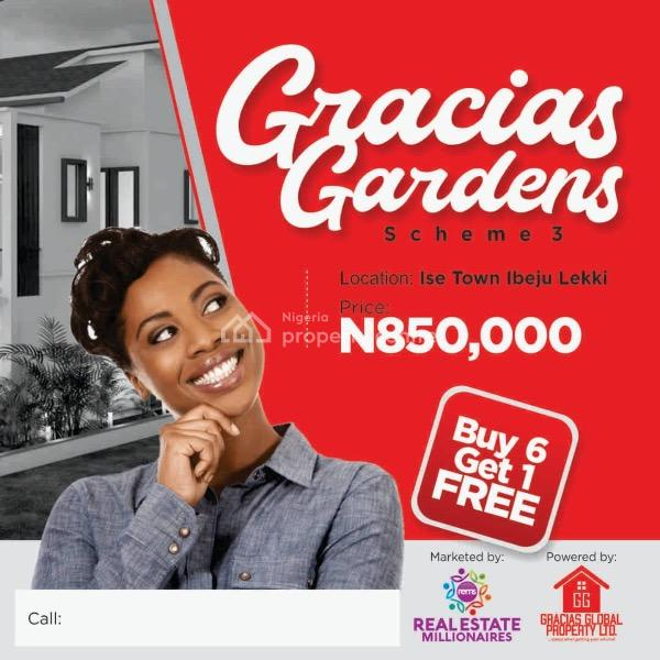 Land for Sale at Ibeju Lekki ...gracias Scheme 3 ,ibeju Lekki, Position Urslf Today Within D Environment of Lekki Free Trade Zone ... .. Current Videos of Site Available on Request, Folu Ise, Ibeju Lekki, Lagos, Residential Land for Sale