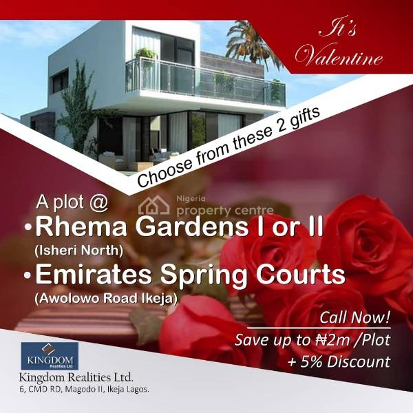 Secure a Full Plot and Get 20% Discount, Channels Tv Avenue, Opic, Isheri North, Lagos, Residential Land for Sale