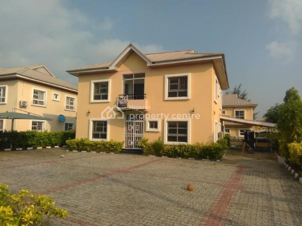 5 Bedroom Detached Duplex in a Serviced Estate, Northern Foreshore Estate, Off Chevron Drive, Lekki, Lagos, Detached Duplex for Rent