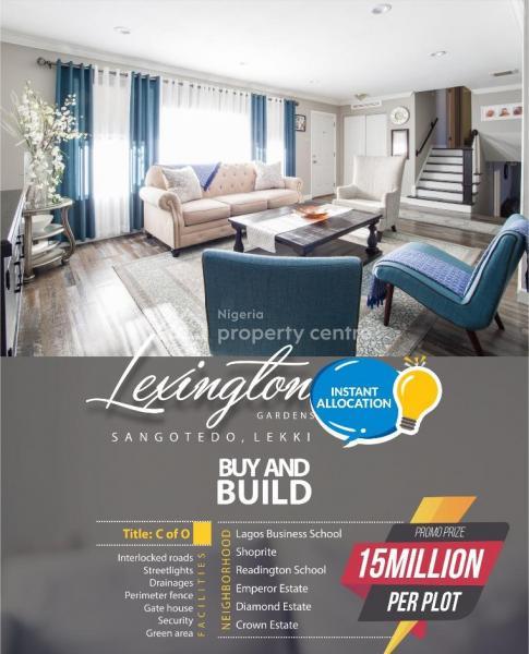 Lexington Gardens, Close to The Expressway and in Close Proximity to Shoprite, Lekki Expressway, Lekki, Lagos, Residential Land for Sale
