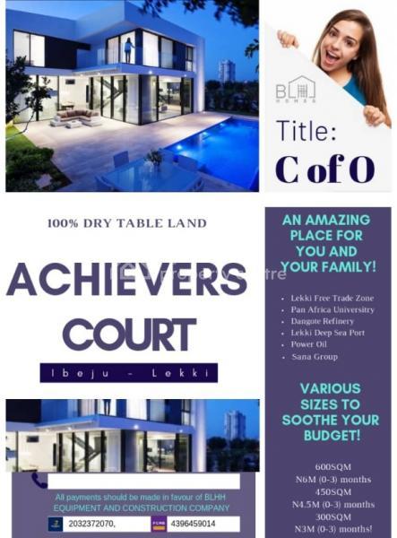 Achievers Court, Near Lekki Deep Seaport & Free Trade Zone, Ibeju Lekki, Lagos, Mixed-use Land for Sale