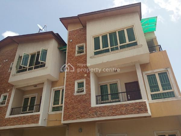 5 Bedroom Terrace Duplex with Bq, Lekki Phase 1, Lekki, Lagos, Terraced Duplex for Rent