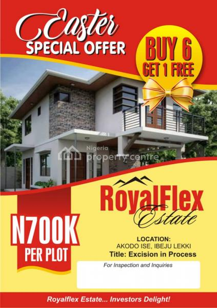 Royal Flex Estate, Akodo Ise, Ibeju Lekki, Lagos, Land for Sale