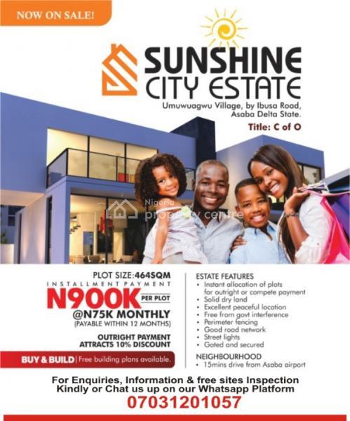 Sunshine City Estate, Umuagwagu Village, Asaba, Delta, Mixed-use Land for Sale