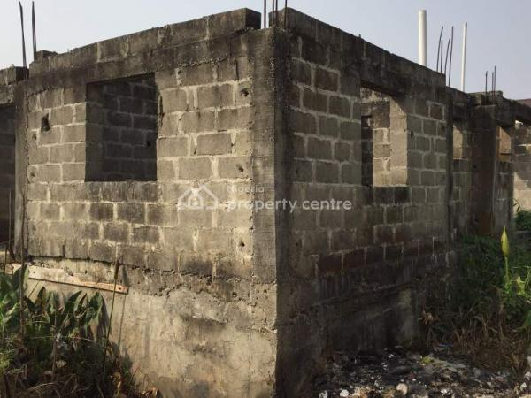 Land with Uncompleted Block of 6 Flats, Green Land Estate, Sangotedo, Ajah, Lagos, Mixed-use Land for Sale