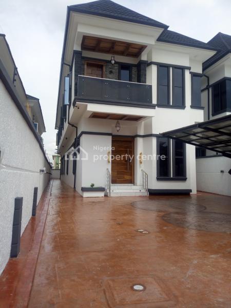 Brand New 5 Bedroom with Bq, Estate, Osapa, Lekki, Lagos, Detached Duplex for Sale