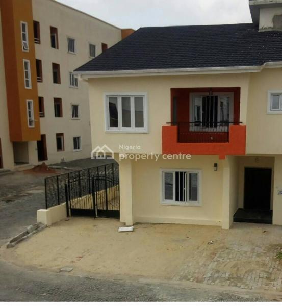 a New Upscale Urban 4 Bedroom Semi-detached Duplex in New Horizon Ii, Meadow Hallway, Ikate, Lekki, New Horizon Ii, Ikate, Ikate Elegushi, Lekki, Lagos, Terraced Duplex for Sale