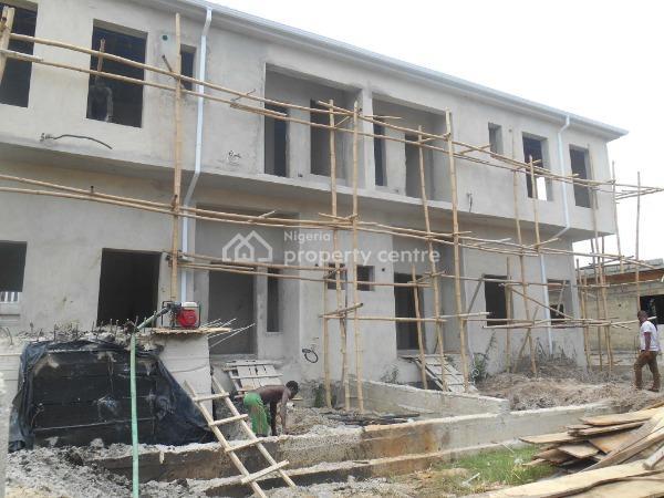4 Bedroom Terrace Duplex   (carcass) Installment Payment Available, Ikota Villa Estate, Lekki, Lagos, Terraced Duplex for Sale