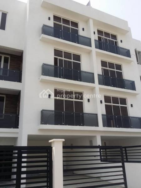Newly Built and Tastefully Finished 5 Bedroom Terrace with Bq, Banana Island, Ikoyi, Lagos, Terraced Duplex for Sale