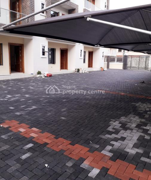 Newly Built  4 Bedroom Townhouse + Bq + Swimming Pool for Sale @ Lekki - Right, Lekki, Lagos, Terraced Duplex for Sale
