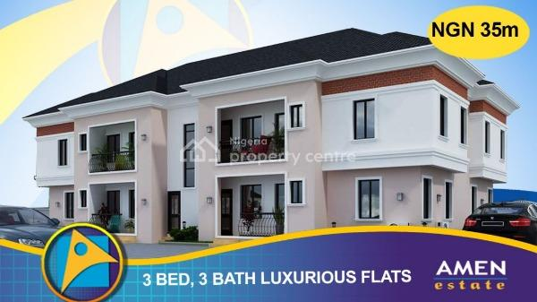 Three Bedroom Luxurious Flats at Amen Estate, Amen Estate Phase 2, Eleko,ibeju Lekki, Eleko, Ibeju Lekki, Lagos, Block of Flats for Sale
