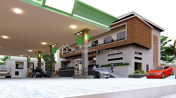 a Commercial Unspecified Plot, Measuring 3,419.97m² with Approval to Build a Filling Station and Mini Plaza., Opposite Game Village, Kukwuaba, Abuja, Commercial Land for Sale