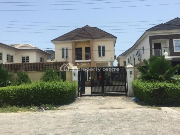 a Well Maintained and Architecturally Built All En-suite Fully Detached 4 Bedroom Duplex with a Bq, Anti-room with Guest Toilet, Dillon Estate Off Ajiran Road, Agungi, Lekki, Lagos, Detached Duplex for Sale