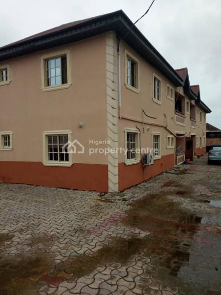 a Well Architecturally Designed and Built One Block of 4 Flats of 3 Bedrooms Flat Apartments Ensuite with Visitors Convenience Etc, Greenville Estate, Badore, Ajah, Lagos, Block of Flats for Sale