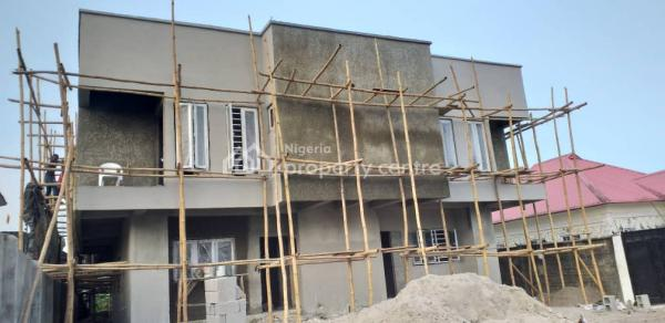 Ongoing Top Notch  3 Bedroom Semi Detached Duplex, Close to Lead-fort  College, Awoyaya, Ibeju Lekki, Lagos, Semi-detached Duplex for Sale
