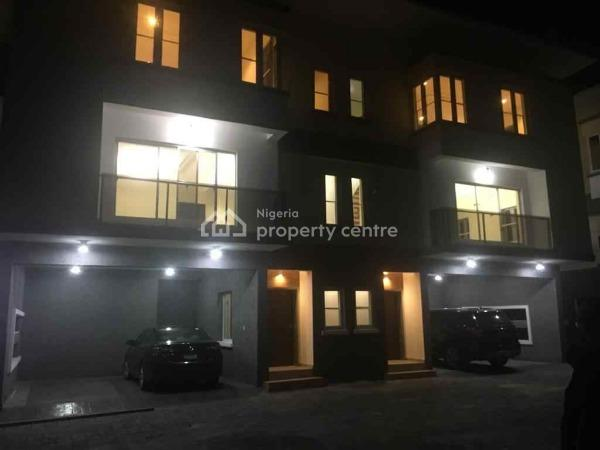 4 Bedroom, Chevron, Lekki, Lagos, Semi-detached Duplex for Rent