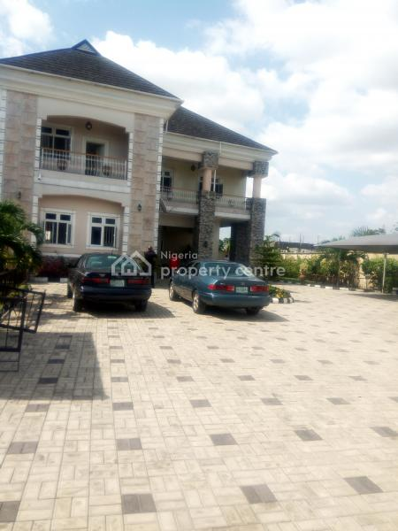 Tastefully Well Finished Executive 6 Bedroom Duplex with 3 Rooms Bq on 3 Plots of Land, Tastefully Luxury Detached 5 Bedroom Duplex in a Calm and Secured Neighbourhood Iwofe Close to Ada -george, Port Harcourt, Rivers, Detached Duplex for Sale