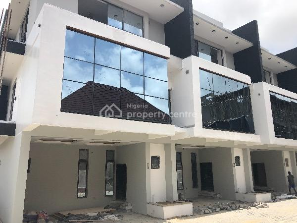 Classic Modern Luxury 4 Bedroom Terrace Duplex with Bq in a Gated Mini Estate, By Conservation Center, Chevy View Estate, Lekki, Lagos, Terraced Duplex for Sale