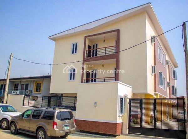 a Beautifully Furnished 4 Bedroom Terrace Duplex, Adeniyi Jones, Ikeja, Lagos, Terraced Duplex for Sale