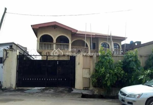 Spacious Detached House with 2-room Bq on a Plot of Land, Off Akowonjo Road, Egbeda, Alimosho, Lagos, Detached Duplex for Sale