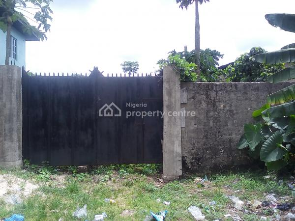 Well Located, Fully Fenced and  Dry Land Measuring 1,277 Square Meters, High Tension Road, Uyo, Akwa Ibom, Residential Land for Sale