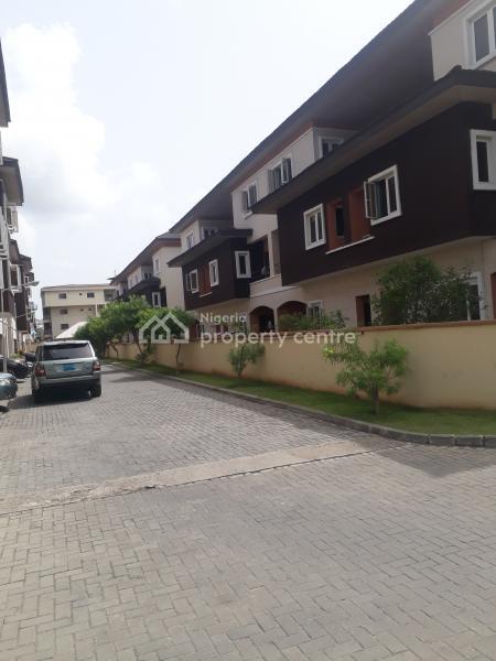 4 Bedroom Terrace House +1 Room Bq with Swimming Pool, Gym, Vettyville Estate, Kusela, Ikate Elegushi, Lekki, Lagos, Semi-detached Duplex for Rent