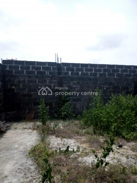 Carcass Building Up to Linted on a Corner Piece Full Plot of Land, Devine Estate, Bogije, Ibeju Lekki, Lagos, Residential Land for Sale