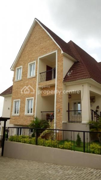 Well Finished 5 Bedroom Detached Duplex with Two Rooms Bq, Wumba, Abuja, Detached Duplex for Sale