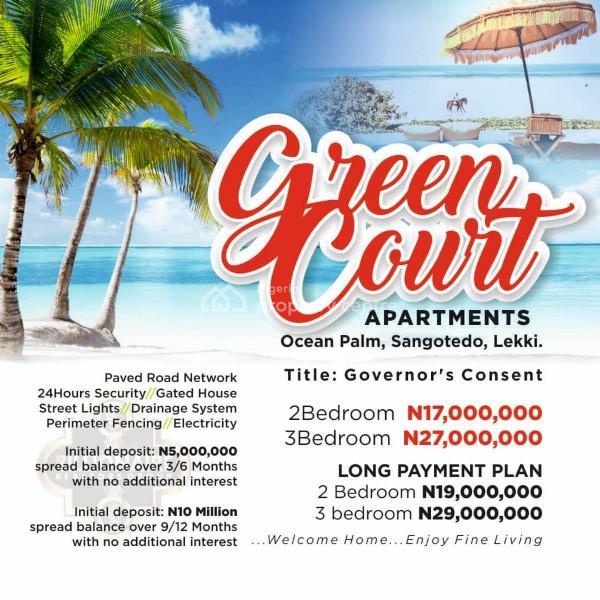Two Bedroom Apartments, Blenco Supermarket, Sangotedo, Ajah, Lagos, Flat for Sale