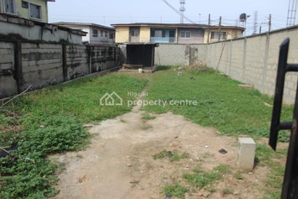 a Strategic Fenced and Gated 246.71sqm Plot of Land for Sale, One Anaye Close Iwaya Road Sabo Yaba #15m, Oke Anaye Close, After Mobil, Onike, Yaba, Lagos, Mixed-use Land for Sale
