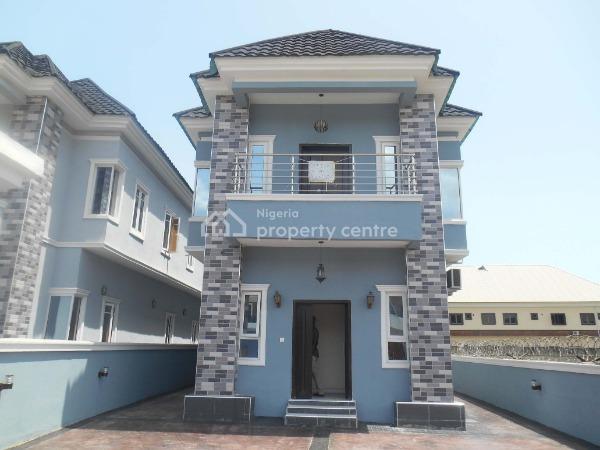 Spacious 5 Bedroom Fully Detached Duplex, Chevy View Estate, Lekki, Lagos, Detached Duplex for Sale