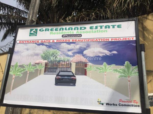 Distress 4 Flats/6 Unit of 3 Bedrooms, Green Land Estate, Opposite Lagos Business School, Olokonla, Ajah, Lagos, Block of Flats for Sale