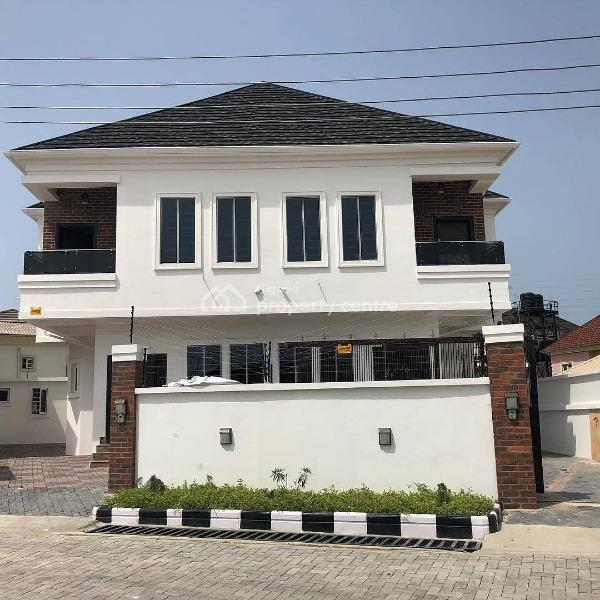 Luxury 4 Bedroom Detached Duplex with a Room Bq Well Finished, Awesome Sanitary Wares, Fully Equipped Kitchen and Lots More, Ikota Villa Estate, Lekki, Lagos, Semi-detached Duplex for Sale