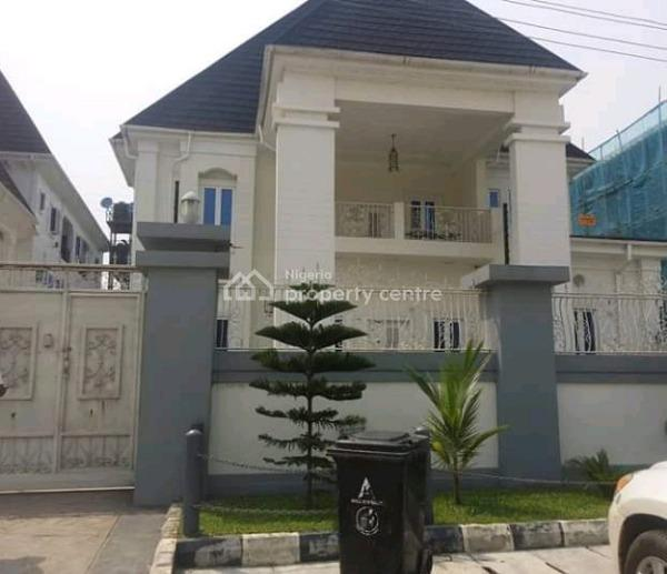 Newly Built Furnished 6 Bedroom Bedroom Detached House with 2-room Bq and 4 Units of 3 Bedroom Flats at The Back in a Gated Estate, Amuwo Odofin, Lagos, Block of Flats for Sale