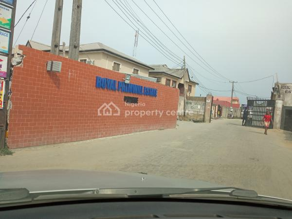 Lovely Block of 4-flats(unfinished),on a Full Plot of Land., Royal Palmwill Estate, Badore, Ajah, Lagos, Block of Flats for Sale