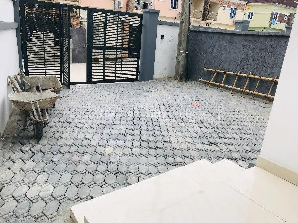 Tastefully Built 4 Bedroom Luxury Semi Detached Duplex with a Domestic Room, By Circle Mall, Osapa, Lekki, Lagos, Semi-detached Duplex for Sale