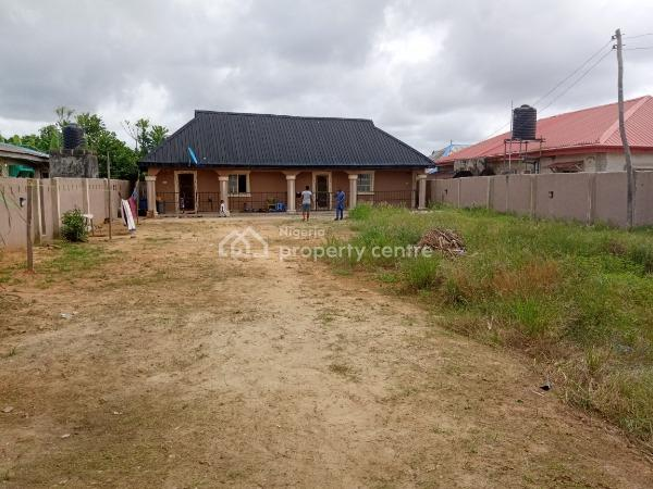 650sqm Fenced & Gated Land with 2 Bedroom Bungalow & 2 Shops, Oko Agbon Ayanre, Agbara - Badagry Express Way, Agbara-igbesa, Lagos, Residential Land for Sale