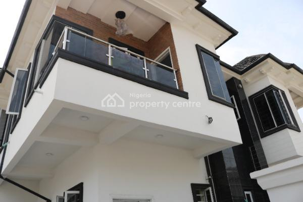 Newly Built, Well Located 4 Bedroom Semi-detached House with Bq, Canal West Estate, Osapa, Lekki, Lagos, Semi-detached Duplex for Sale